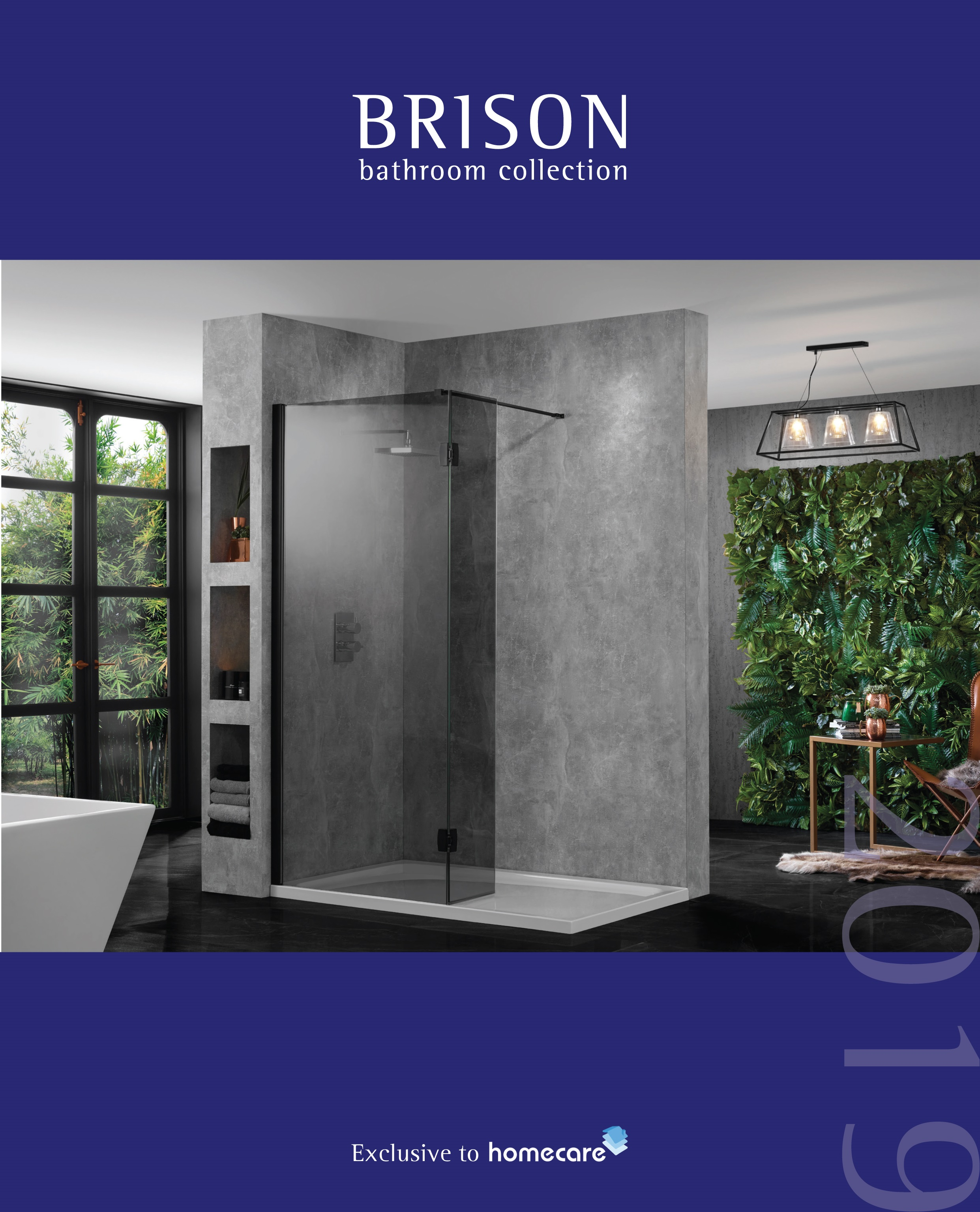 Brison Exclusive Bathrooms available only at Homecare Darlington