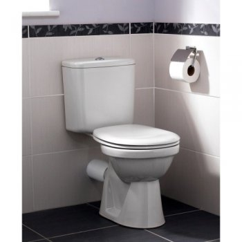 essential bathrooms ruby wc toilet pack with open back pan