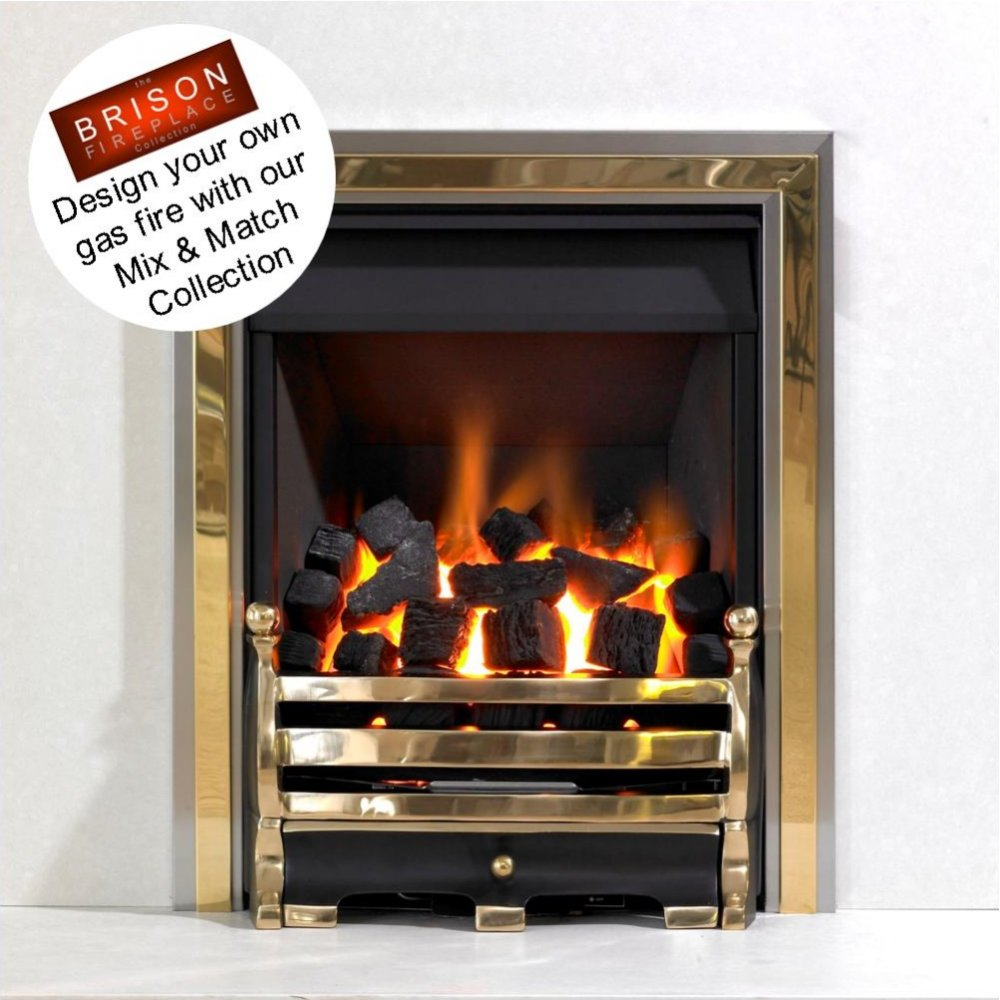 Cosmic Inset Gas Fire Class 2 Open Fronted