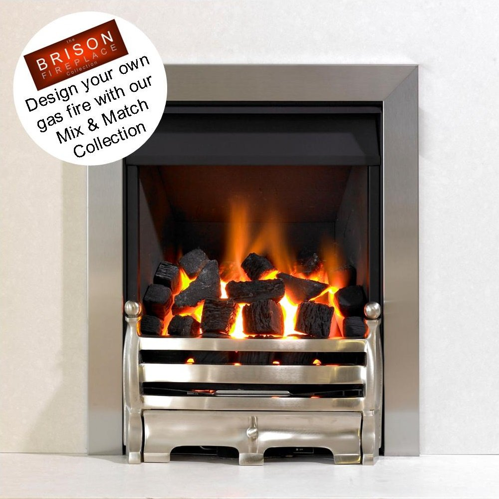 kinetic inset gas fire class 1 high efficiency xhe glass fronted