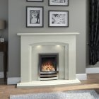 Brison Roecliffe Marble Fireplace 54 Inch