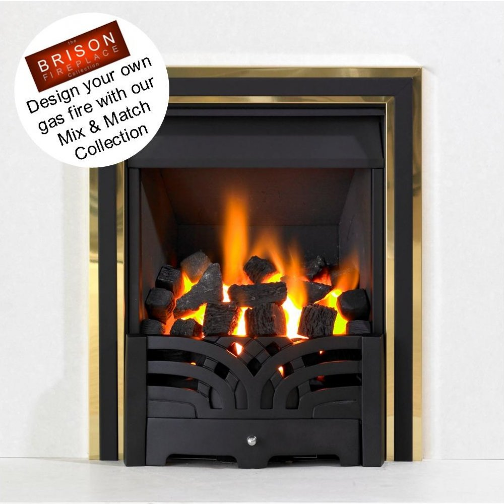 Brison Fireplaces Cosmic Inset Gas Fire Balanced Flue BF