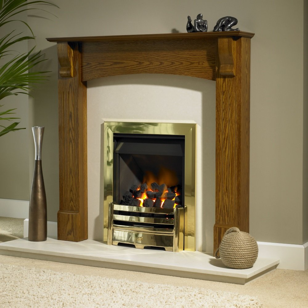 Brison Kearton Mantel Surround 42 inch Fireplace Showroom