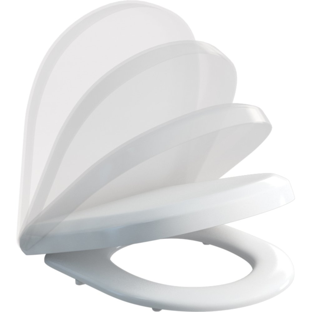 Curve Or Fine Angled Soft Close Toilet Seat Code Ss1027