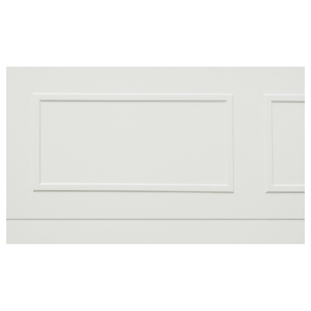 burlington arundel bath front panel 180cm white s25 s34. Black Bedroom Furniture Sets. Home Design Ideas