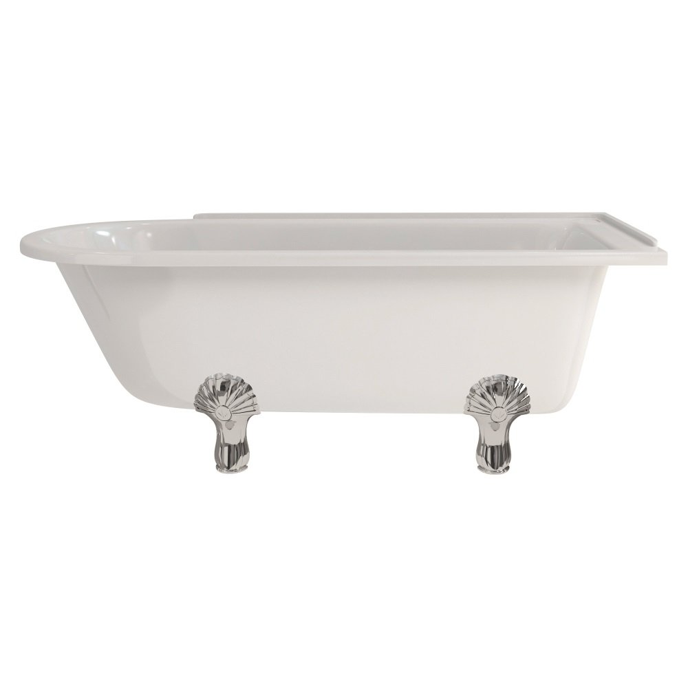 Hampton 150cm Right Hand Freestanding Shower Bath E21