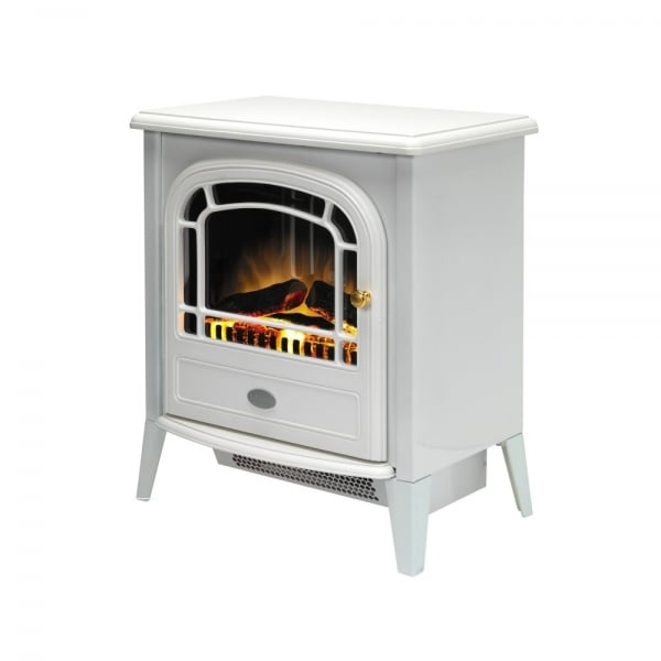 Dimplex Electric Stoves ~ Dimplex courchevel electric stove in matt white cvl n