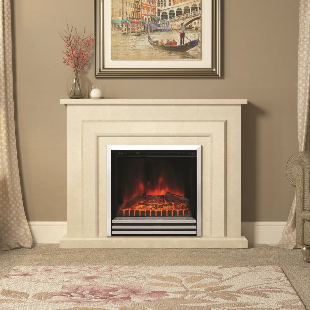 Pleasant Elgin And Hall Farnham Electric Marble Fireplace Darlington Interior Design Ideas Tzicisoteloinfo