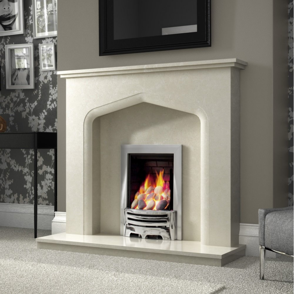 Elgin And Hall Fireplaces Verdena 48 Inch Traditional