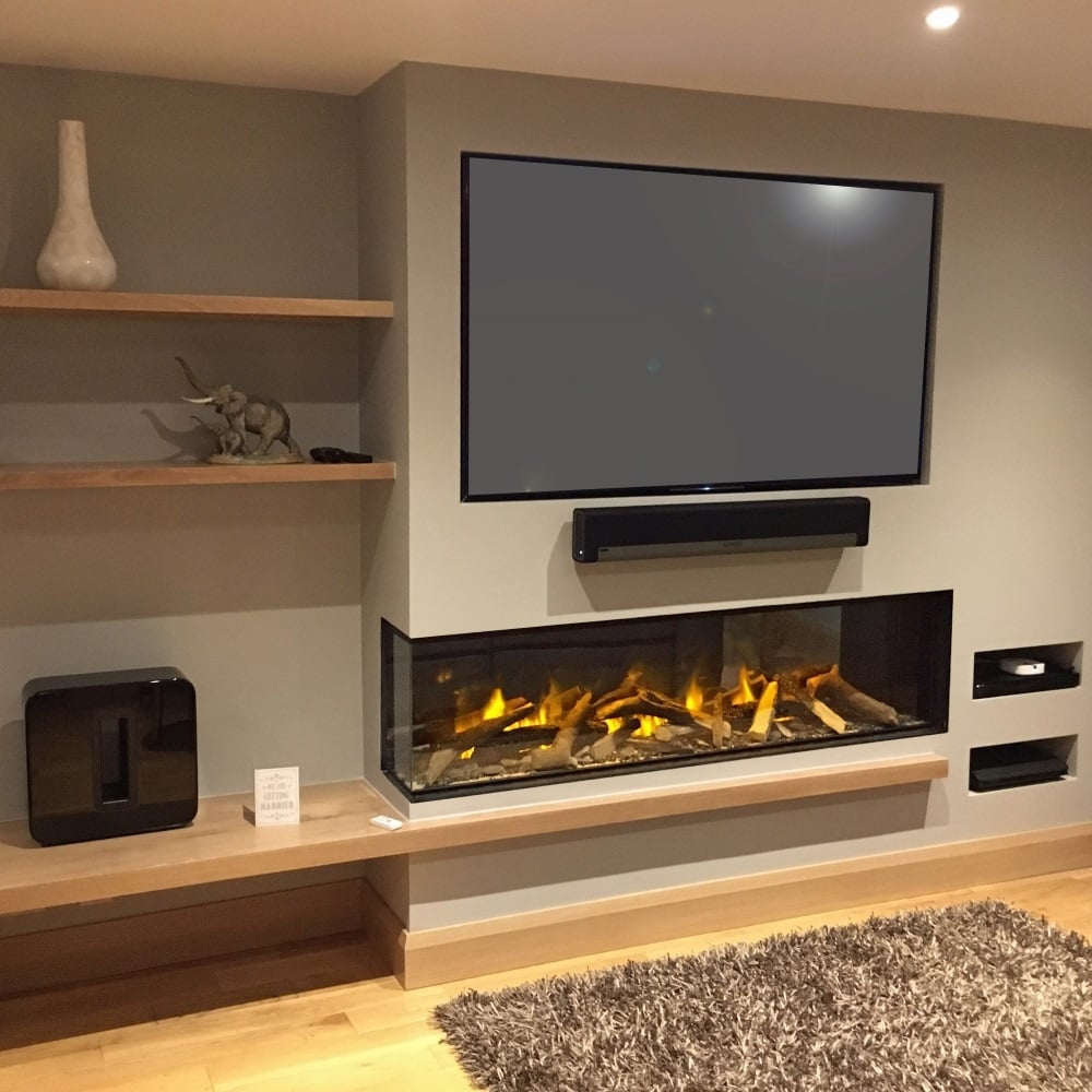 Evonic E Series E1800gf2 Evoflame Led Electric Fire