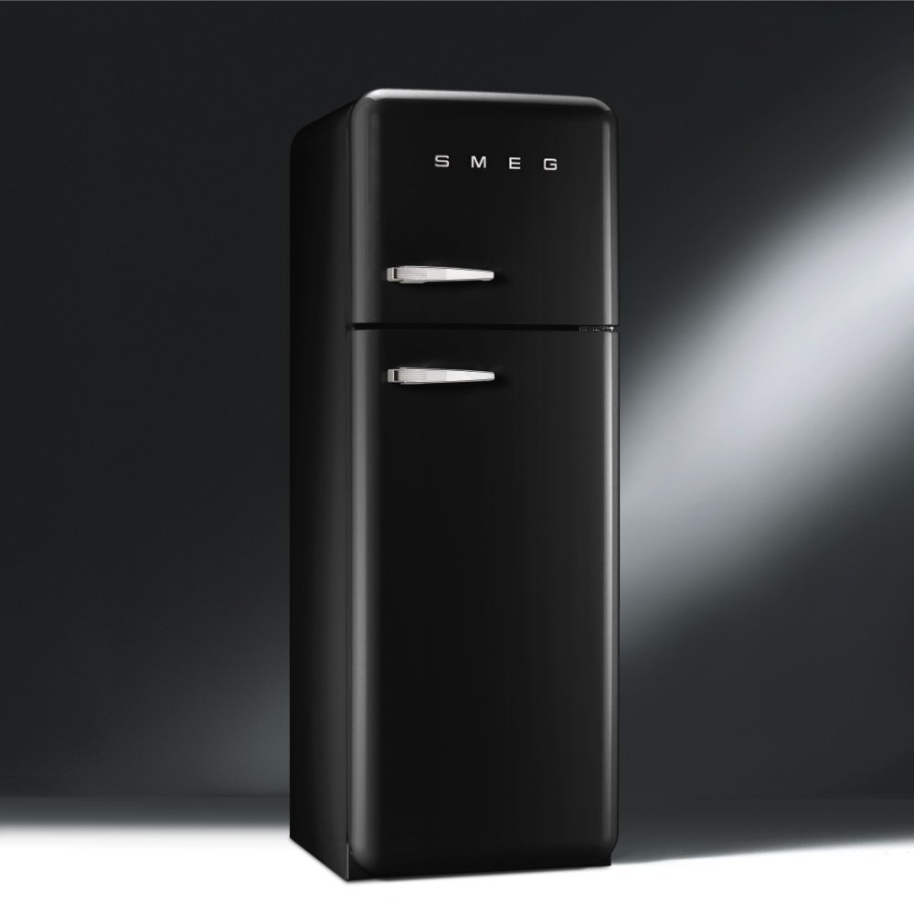 smeg cookers appliances fab 50 39 s retro fab30rfb fridge. Black Bedroom Furniture Sets. Home Design Ideas