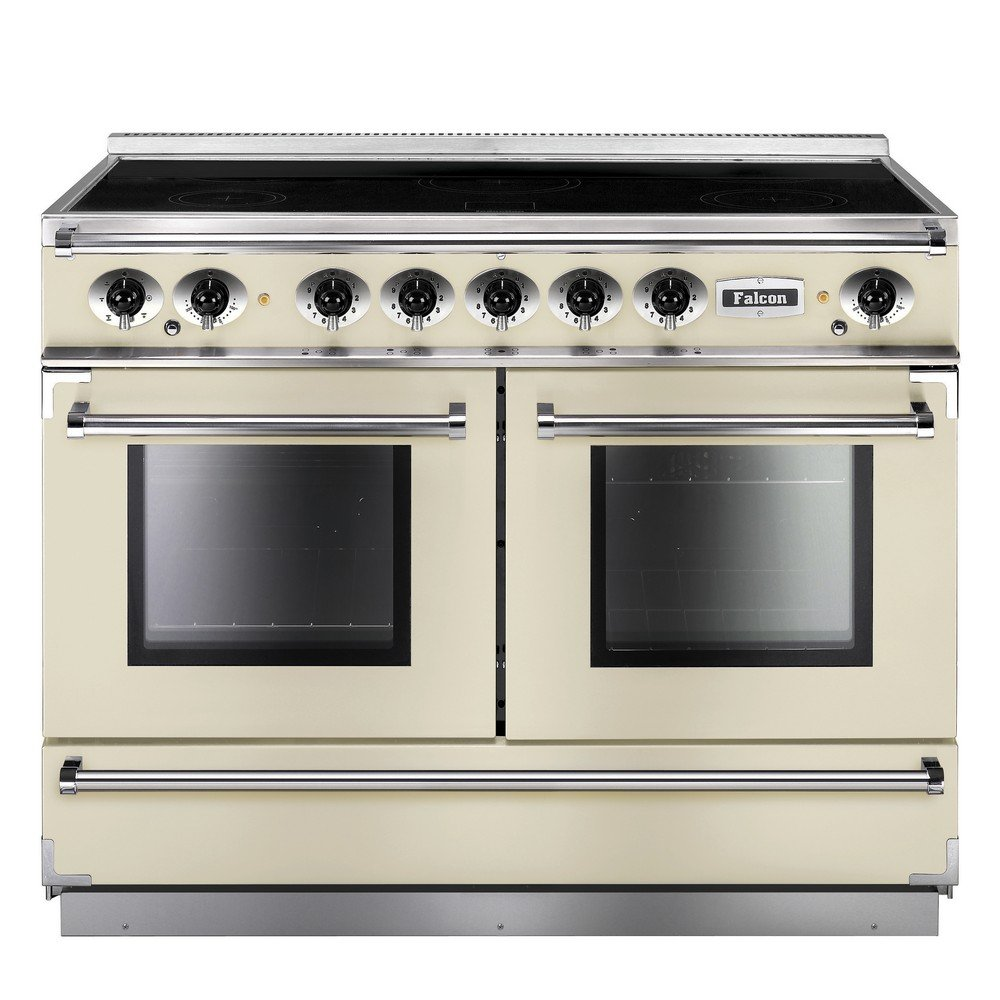 1092 continental induction range cooker fcon1092eiiv c eu ivory with chrome trim. Black Bedroom Furniture Sets. Home Design Ideas