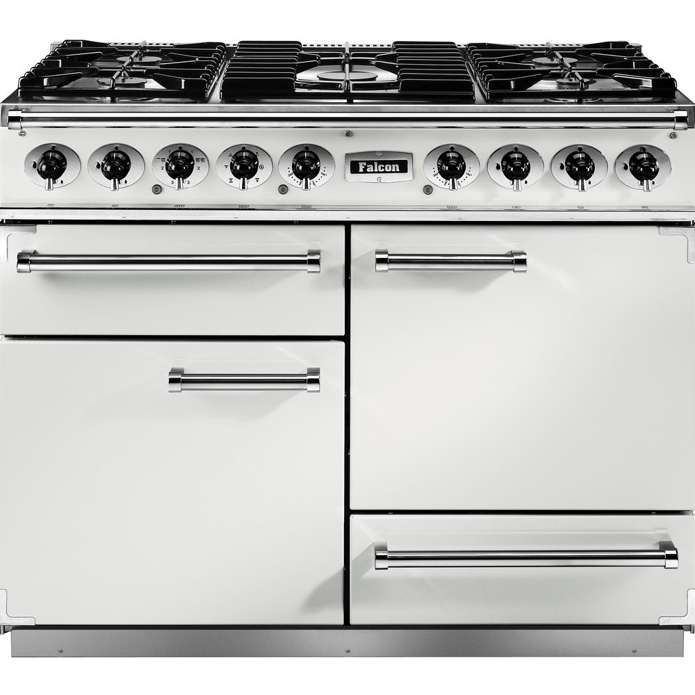 1092 deluxe dual fuel range cooker f1092dxdfwh ng ice. Black Bedroom Furniture Sets. Home Design Ideas