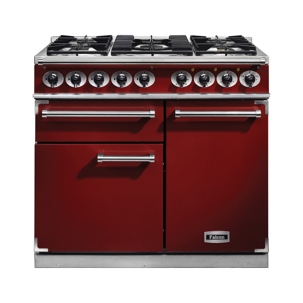 1000 deluxe dual fuel range cooker f1000dxdfrd ng cherry. Black Bedroom Furniture Sets. Home Design Ideas