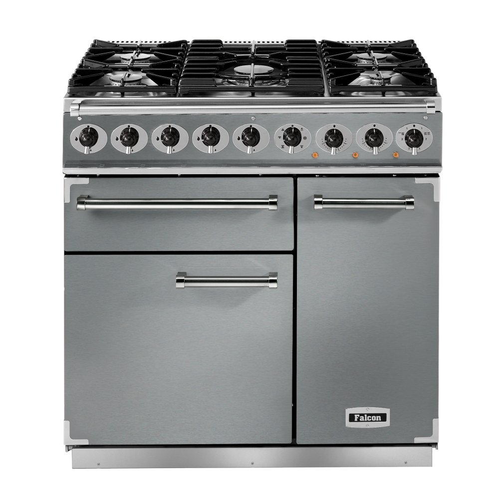 falcon range cookers 900 deluxe dual fuel range cooker. Black Bedroom Furniture Sets. Home Design Ideas