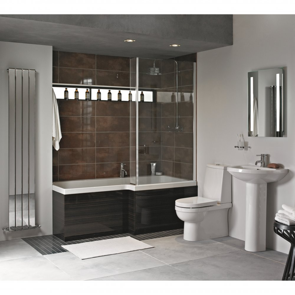Heritage Zaar Bathroom Suite In White *NO LONGER AVAILABLE*