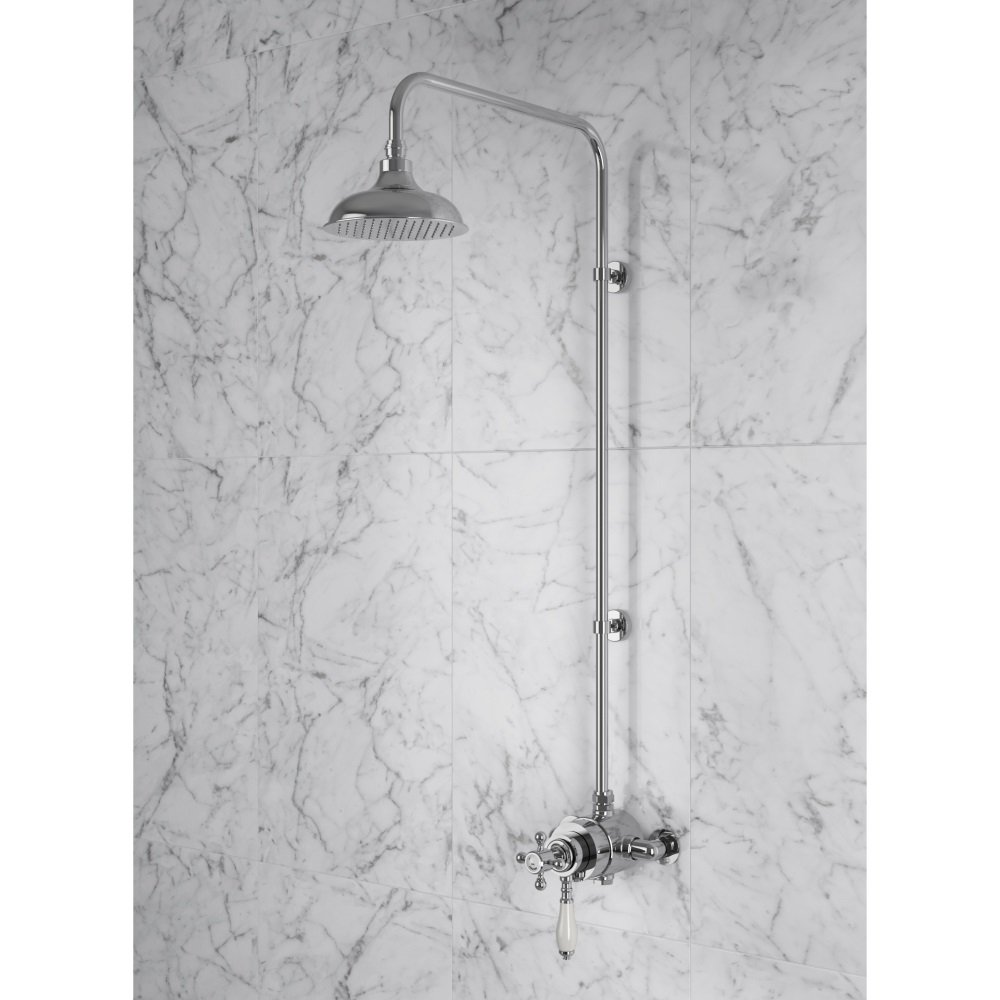 Hartlebury Dual Control Deluxe Thermostatic Shower Surface Valve ...