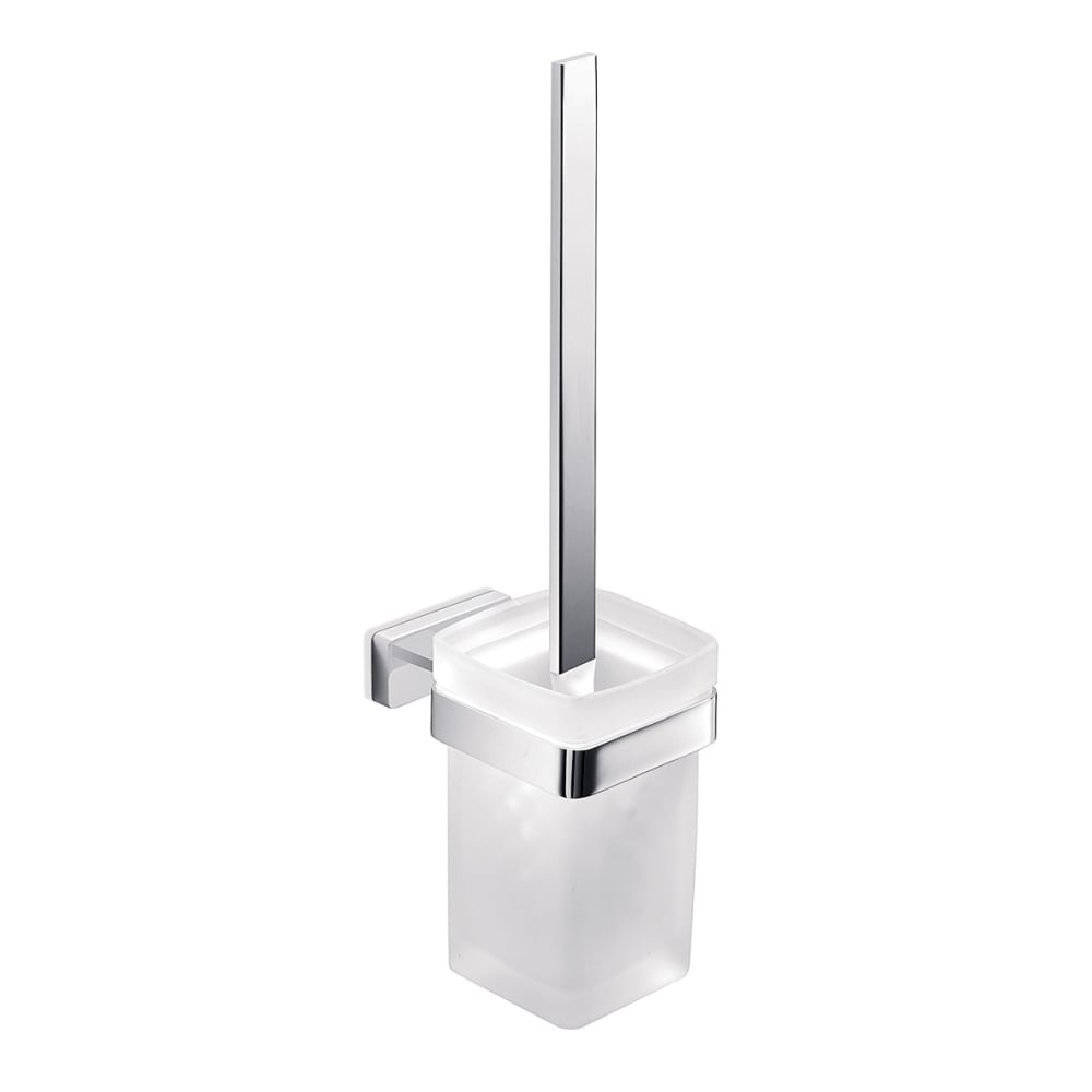 Lea Toilet Brush And Holder Chrome A18140