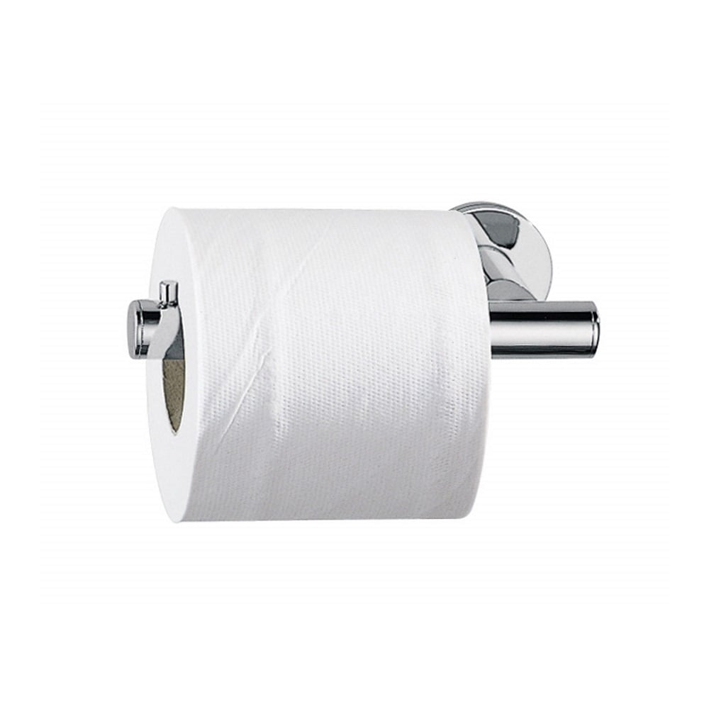 Touch toilet roll holder a46250 chrome for Bathroom accessories toilet roll holder