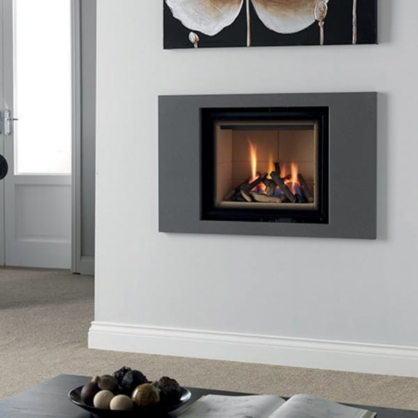 Intensity 550 Contemporary Inset Wall Mounted Gas Fire