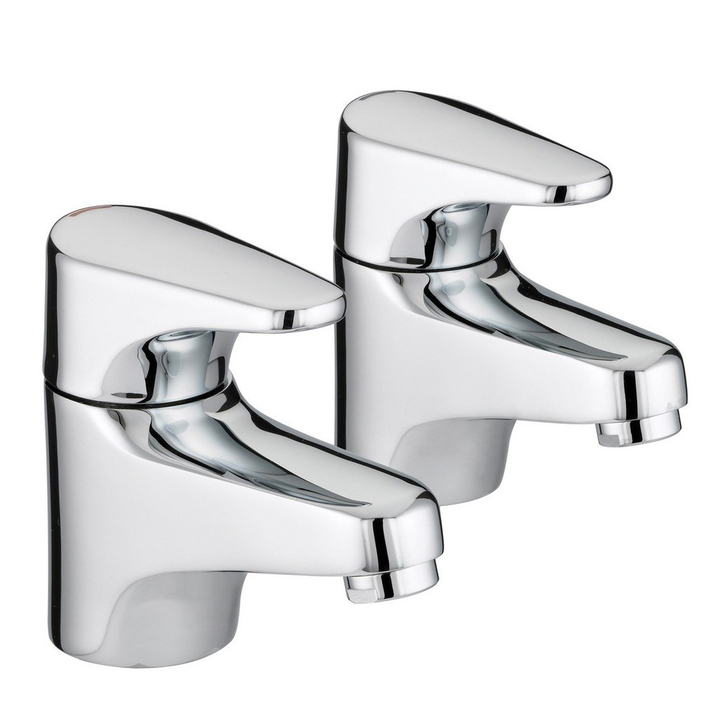 Bristan taps showers jute bath taps ju3 4c chrome plated for Bathroom taps