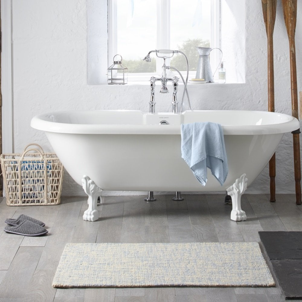 Fairfield Freestanding Double ended Rolltop Bath