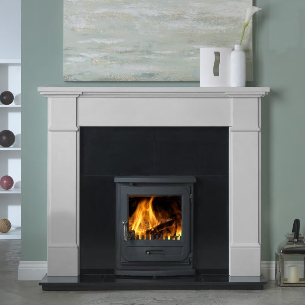 penman velletri 58 inch fireplace surround in agean limestone