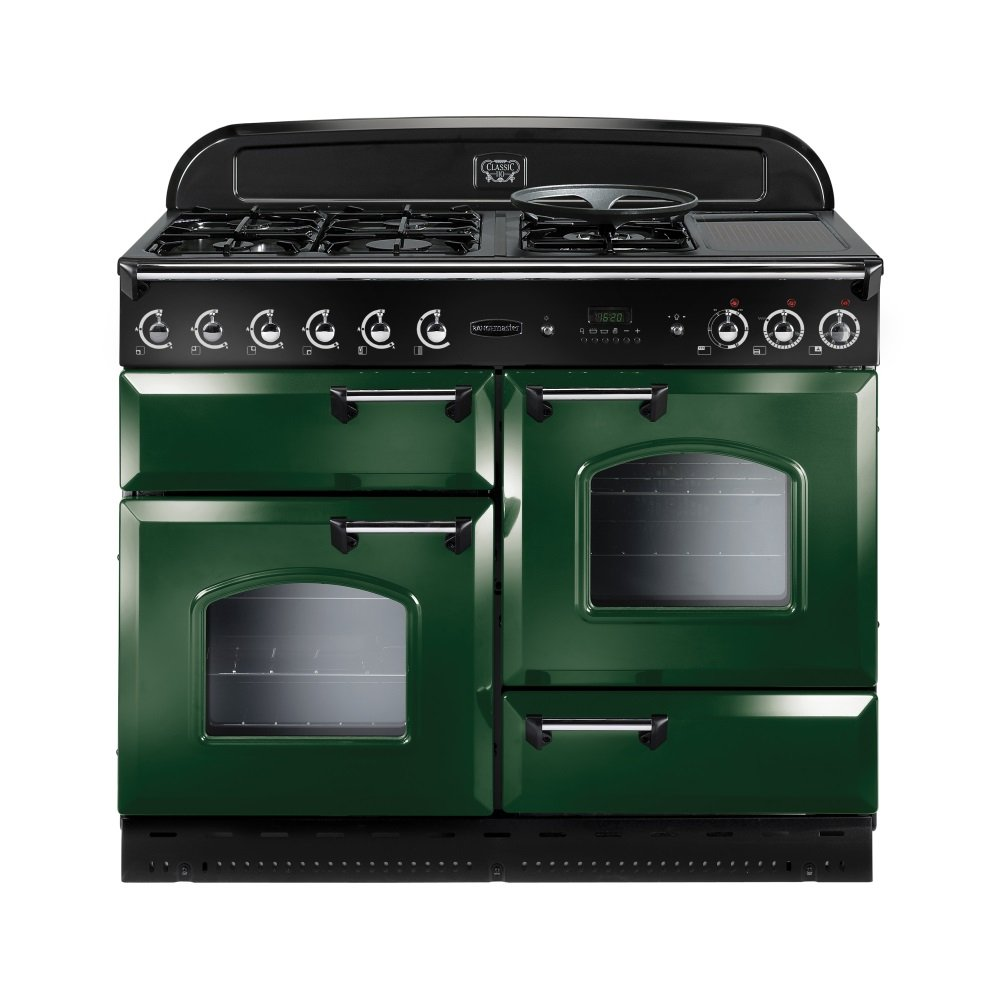 rangemaster range cookers classic 110 dual fuel range. Black Bedroom Furniture Sets. Home Design Ideas
