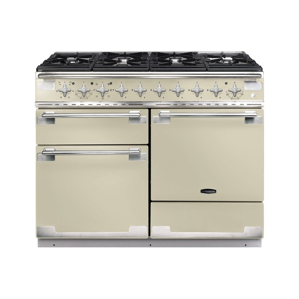 Rangemaster els110dffcr elise 110 dual fuel range cooker cream - Piano cuisine induction ...