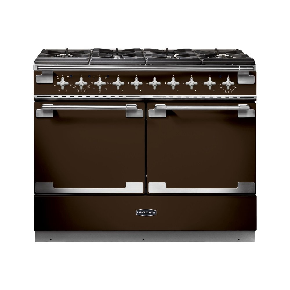 Rangemaster elise se 110 dual fuel range cooker chocolate - Piano cuisson germania ...