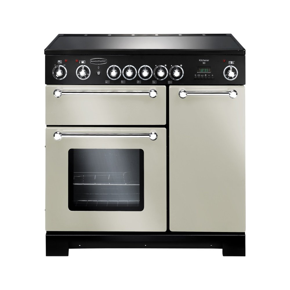 rangemaster kitchener 90 electric ceramic range cooker. Black Bedroom Furniture Sets. Home Design Ideas