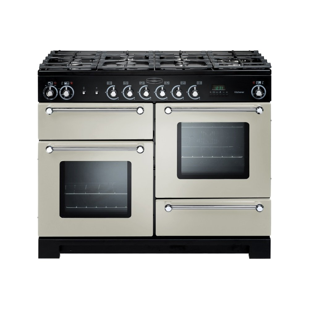 rangemaster range cookers kitchener 110 dual fuel range. Black Bedroom Furniture Sets. Home Design Ideas