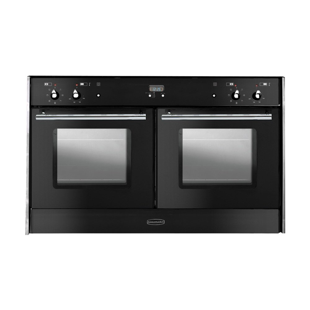 range oven double oven side by side electric range