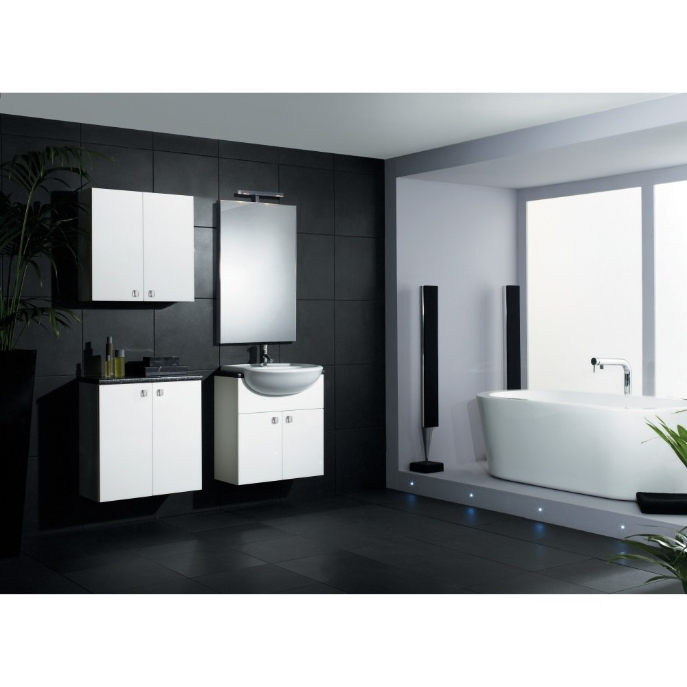 Shades Aspen Fitted Bathroom Furniture In White Shades From Homecare Suppli
