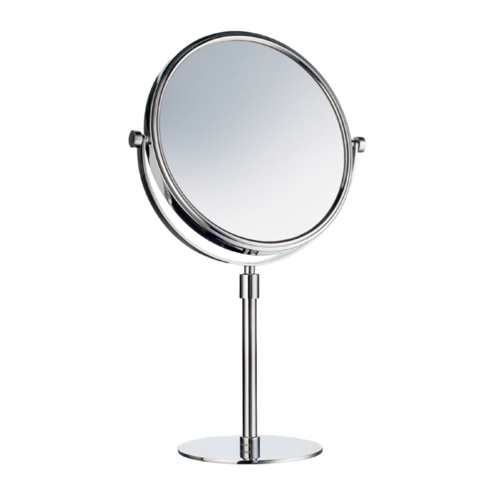 Outline free standing shaving mirror fk435 polished chrome Polished chrome bathroom mirrors