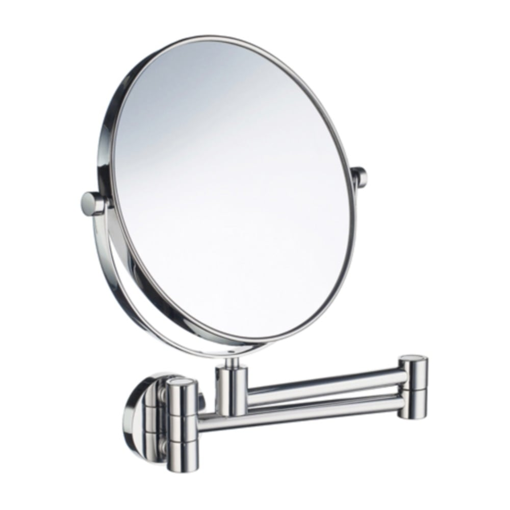 Outline wall mounted shaving mirror fk438 polished chrome smedbo outline wall mounted shaving mirror fk438 polished chrome amipublicfo Gallery