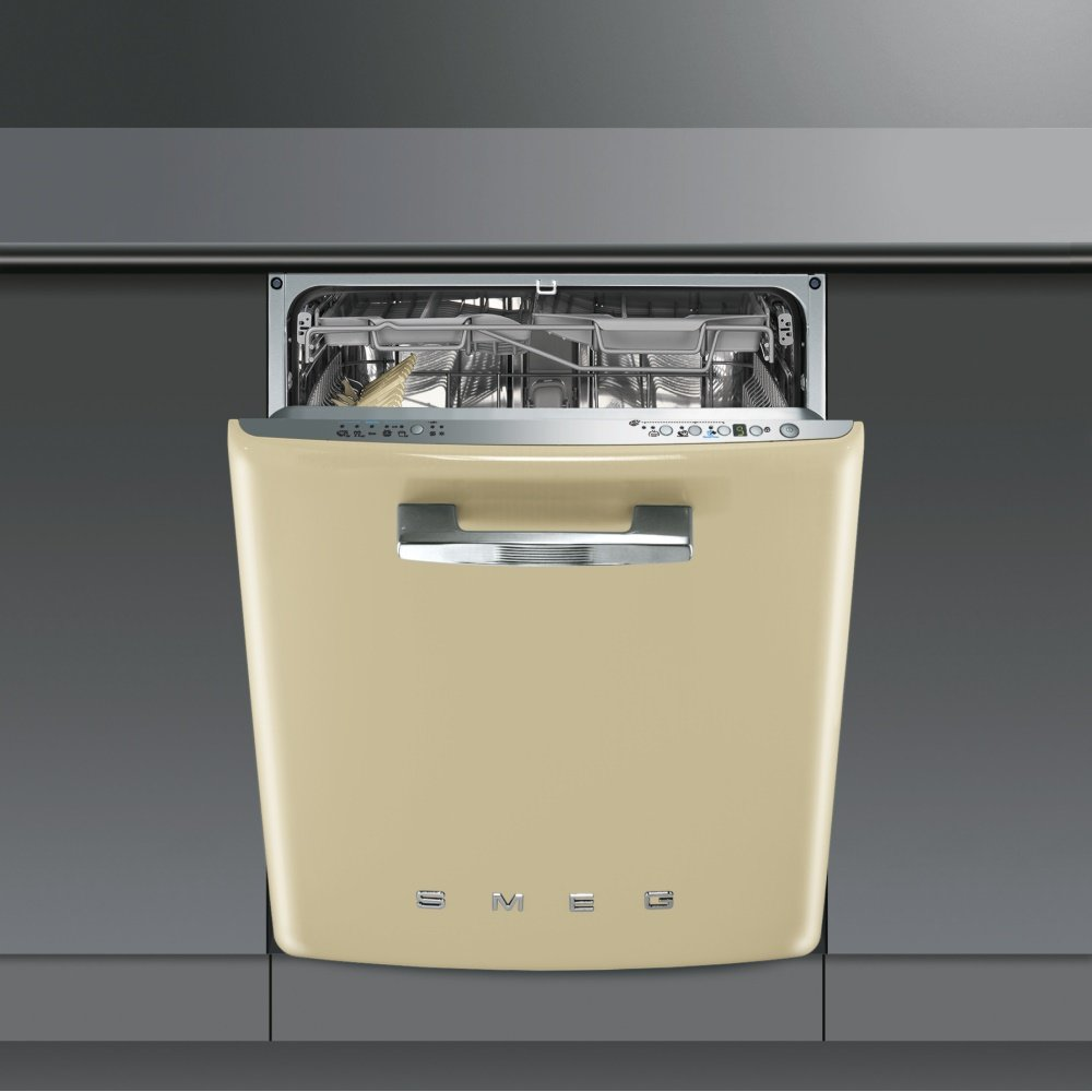 Smeg Di6fabp2 60cm Built In Cream Dishwasher Interiors Inside Ideas Interiors design about Everything [magnanprojects.com]
