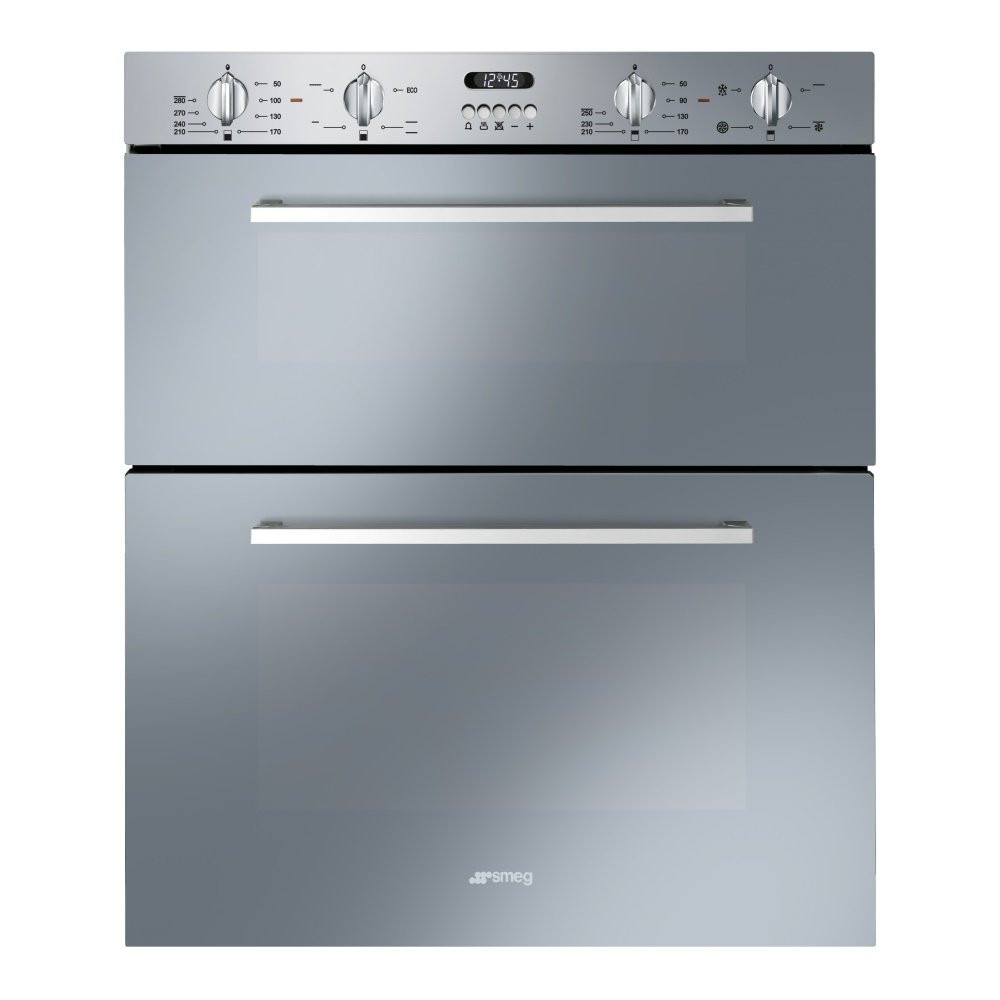 Smeg dusf44x cucina multifunction built under double oven for Cucina smeg