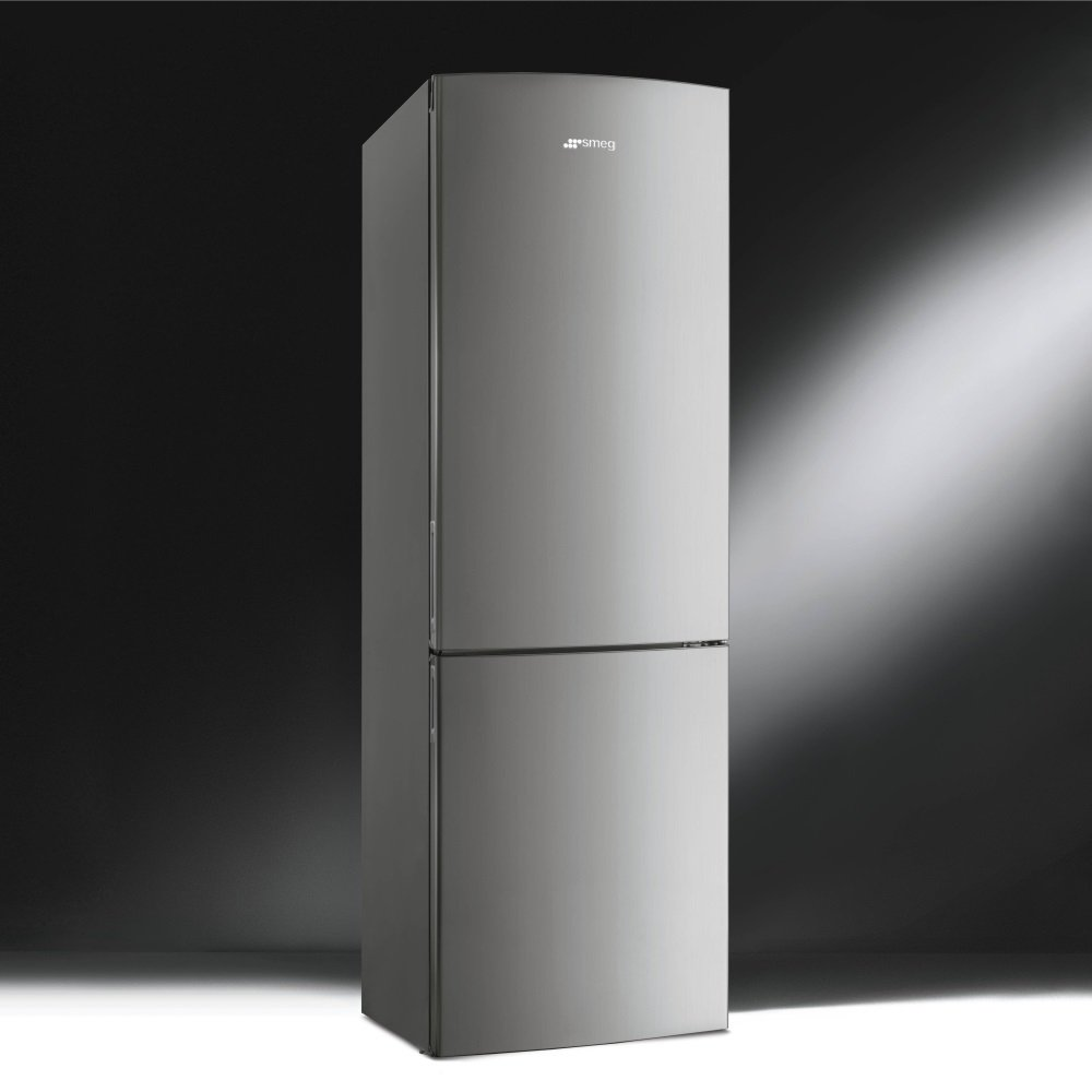 Smeg Fc34xpnf Fridge Freezer With Stainless Steel Effect Door