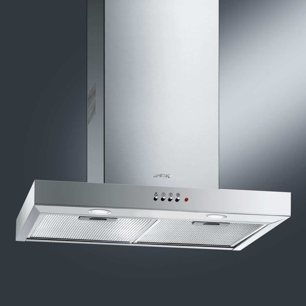 smeg kse61x 1 60cm cucina chimney hood in stainless steel