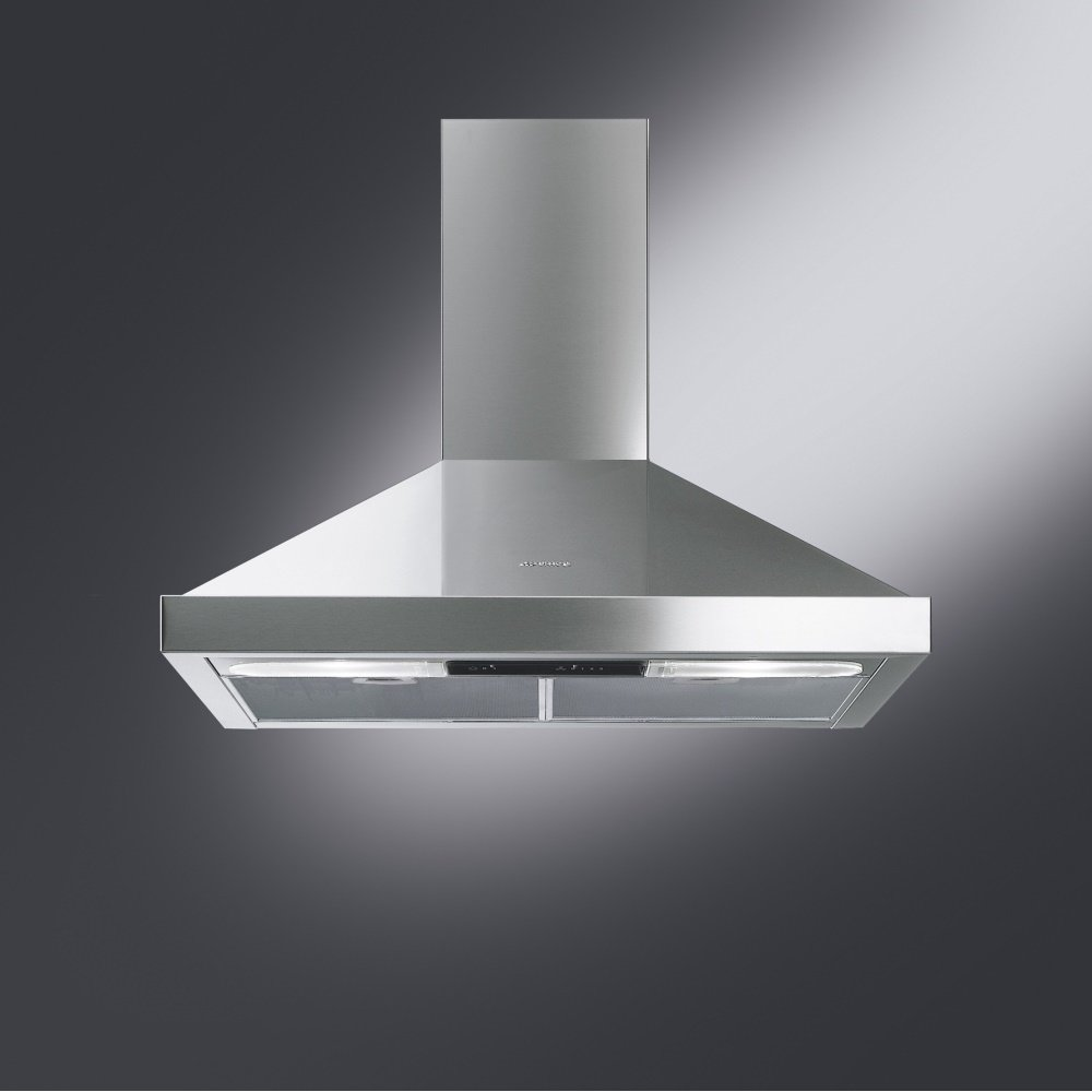 Smeg cookers appliances ksed72x 70cm cucina chimney hood for Cucina smeg