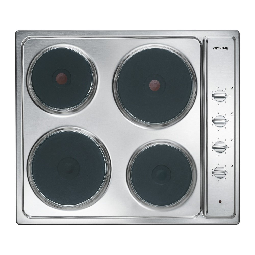smeg se435s cucina 4 ring electric hob. Black Bedroom Furniture Sets. Home Design Ideas
