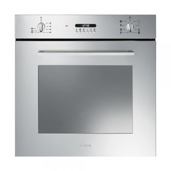Smeg Sf478x Cucina Multifunction Single Oven In Stainless
