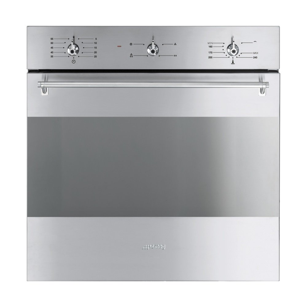 Smeg Sf341gvx Classic Gas Fan Single Oven In Stainless Steel