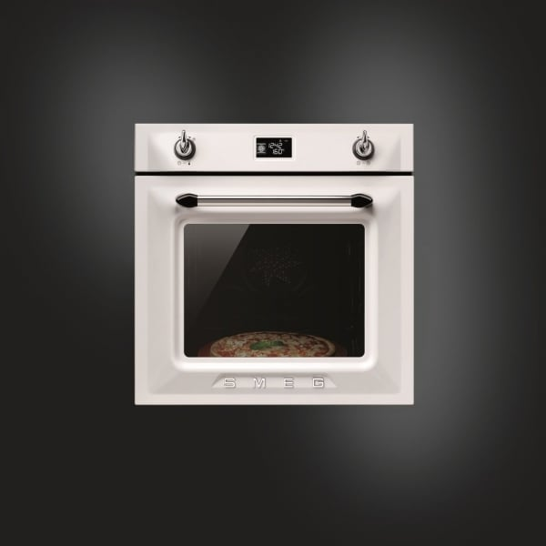Smeg Sfp6925bpz Victoria Pyrolytic Multifunction Oven In White