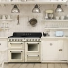 Victoria Aesthetic Induction 110cm Range Cooker TR4110IP - Cream With Chrome Trim