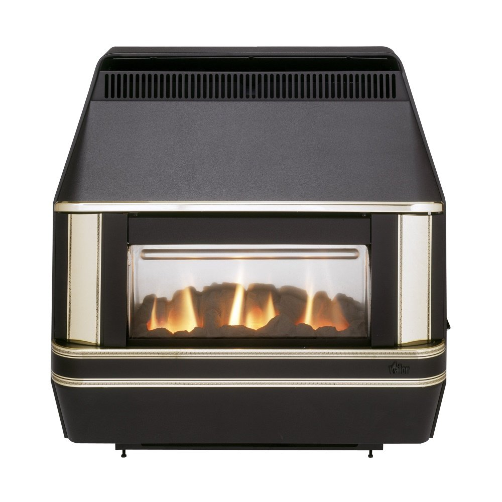 Heartbeat Oxysafe 2 Outset Gas Fire 0533901 Black And