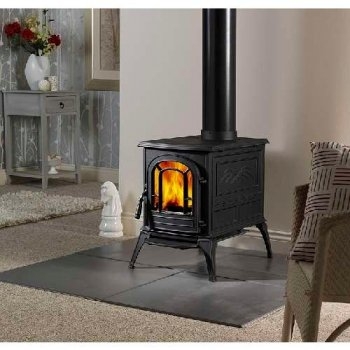 Vermont Castings Vermont Aspen Wood Burning Stove Classic Black